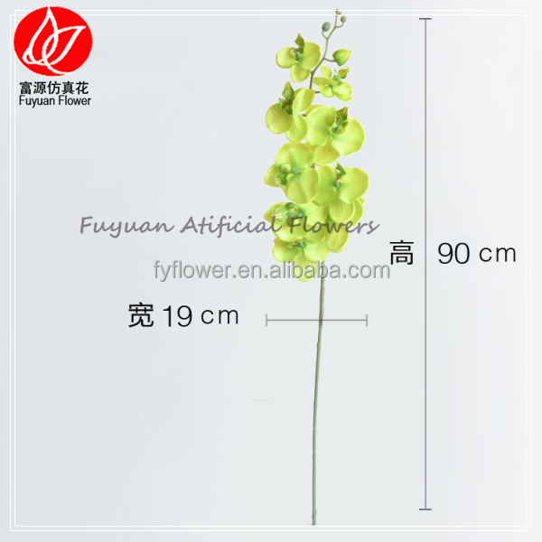 140970 Top level new arrival beaded 90cm long decorating wedding halls orchid stem flower
