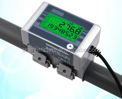 Ultrasonic clamp on coriolis mass flow meter reed switch flow sensor