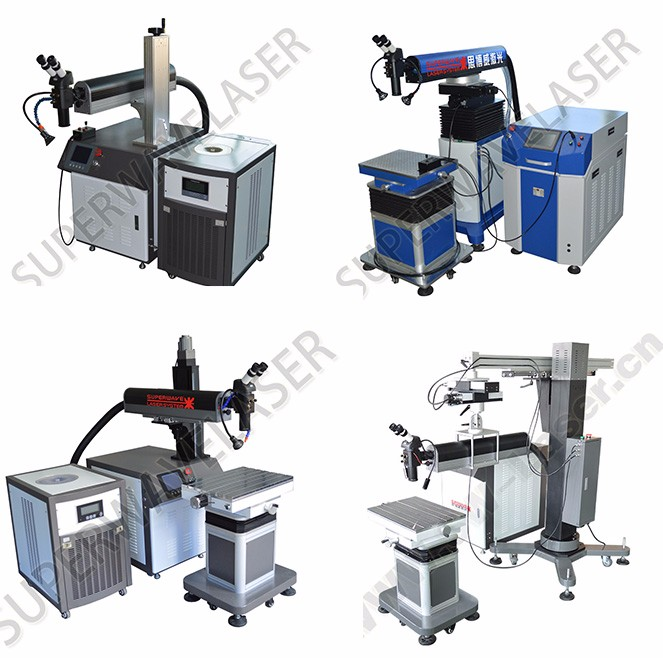 High-precision mould repairing Laser Welding Machine for sale
