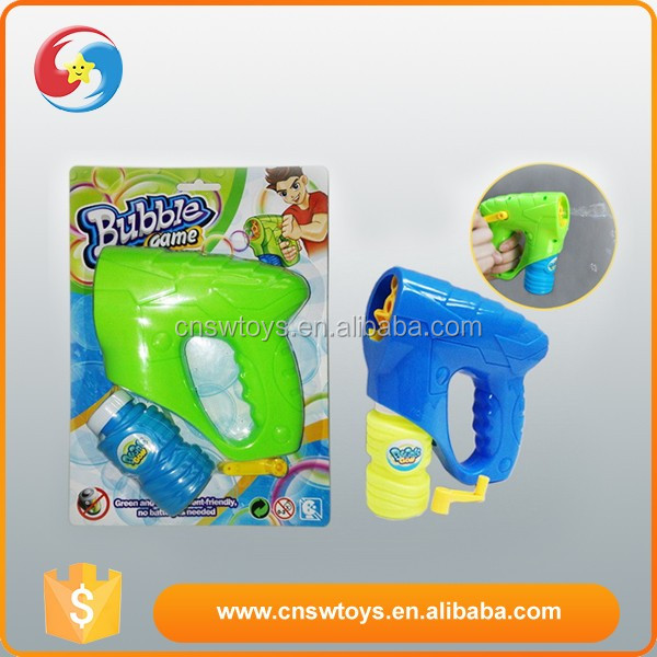 High quality child toy funny hand automatic suction bubble blower