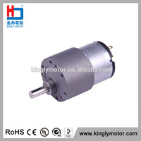 micro 12 volt motor with gearbox 37mm for mixer,12v 3000rpm with gearbox gear motor ,24vdc reduction gearbox magnetic motor