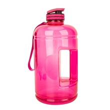 Mlife 2019 New Arrival Large 3.78L Clear Plastic Bottle 1 Gallon PETG GYM Water Bottle