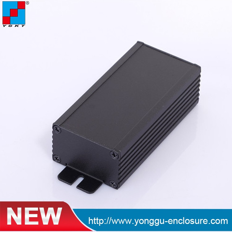 Two Parts Extrusion Aluminum Enclosure For Pcb , Aluminum Enclosure For Power Box