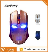 Normal Size Iron Man Shape Computer Wireless Mouse