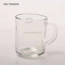 Promotion Clear Lead Free Pyrex Eco-Friendly Tea Glass Cup with Handle