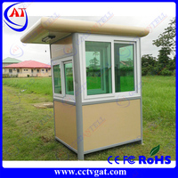 China high quality light steel structure sentry box/military police station container house GAT-GT26