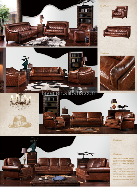 Latest european style leather home cebu w sofa furniture for House and home furniture price list