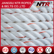NTR 2016 3-ply Super wear double braided polyester industrial marine rope
