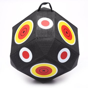 wholesale durable XPE foam archery target with 26 sides can shooting, 3D polyhedral shooting archery target
