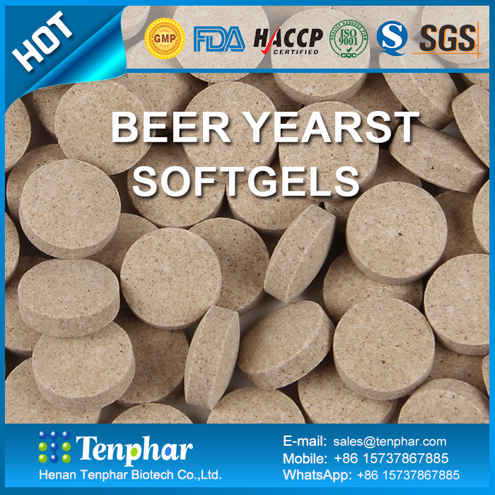OEM Private Label Brewers Yeast Supplement Pills