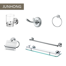High quality 6 sets stainless steel bathroom accessories set