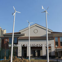 2000w wind driven wind turbine generator for home electricity with CE