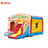 MULTI FUN CLOWN inflatable jumping castle bouncer combo slides
