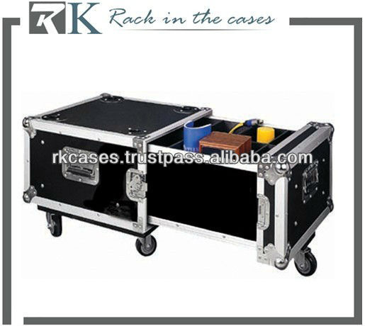 RK flight case storage tool case with casters