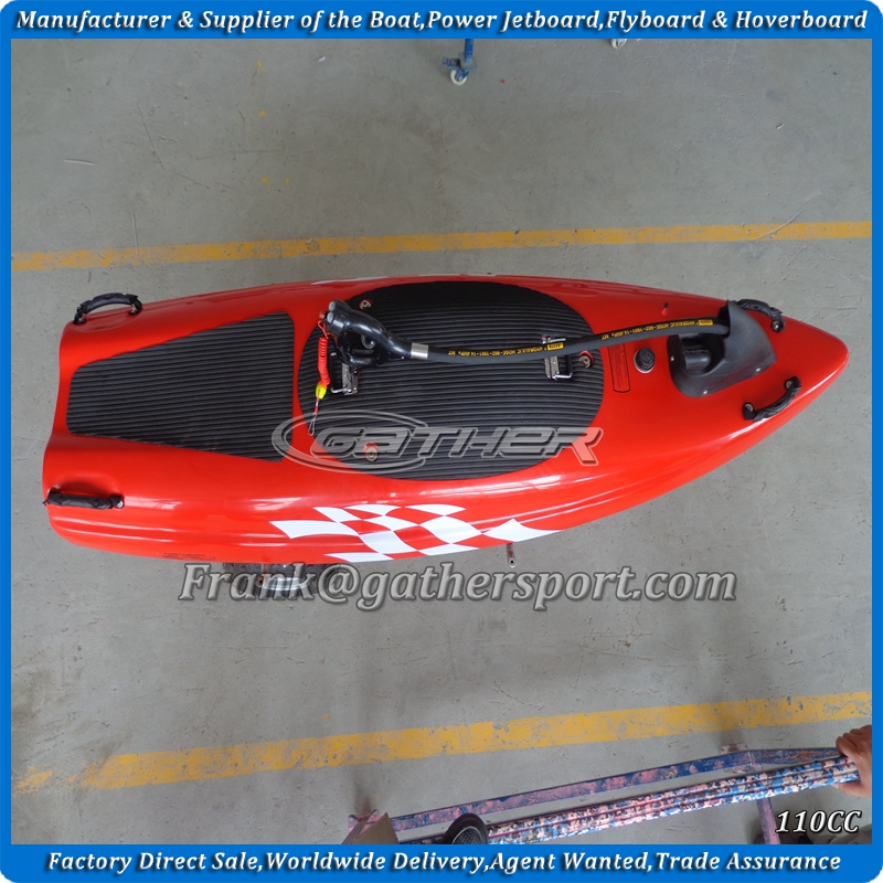 hot sale ce certificated 4stroke 110CC power jet board