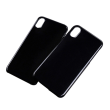 New Product Mobile Phone Hard Plastic Blank Case for iPhone X Black PC Case
