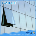 Easy to use New Zealand frameless glass curtain wall construction