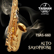 High quality Chinese musical instrument alto saxofone