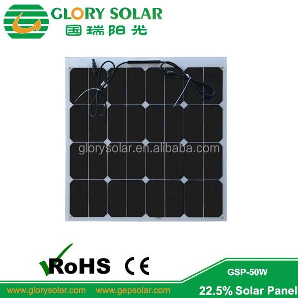 Framless Solar Pv Modules Etfe Surface Glass Backsheet