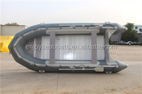 China wholesale handmade Inflatable folding boats aluminium motor outboard ASA-380 with CE certificates for sale!
