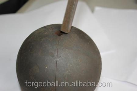 Unbreakable Grinding hot sale forged steel ball for all kinds of Metal mines