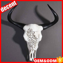 Resin wholesale customized cow skull