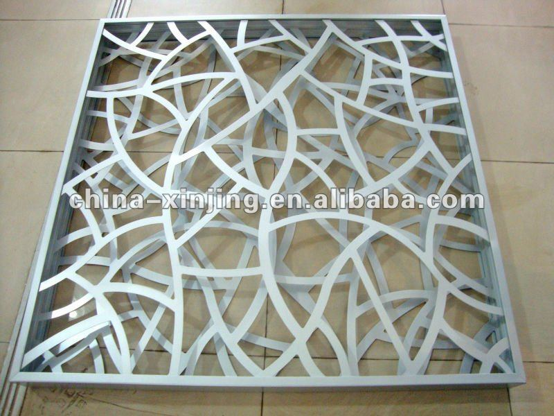 New hall metal false ceiling panel