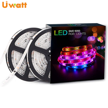 DC12V 40W 5050 Addressable <strong>rgb</strong> UCS1903 Dream Color Waterproof LED Strip Suit With Adapter And SP106E, 10M WS2811 Pixel LED Strip