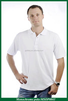 Couple Unisex Plain White Polo Shirt Cheap Blank Polo Shirt For Promotional