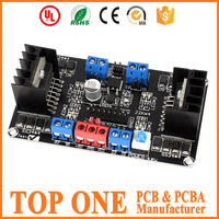 FR4 94vo ROHS PCB Audio Amplifier 12v Dc whole PCB Board and Components Sourcing and Assembly
