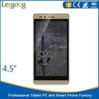 Low price china mobile phone OEM Smartphone 4.5 quad core cellphone