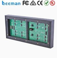 Free shipping leeman LED module led screen for full sexi movie in japan PH10mm RGB full color 320mm*160mm
