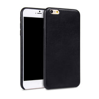 Hot selling in USA market Sheepskin Material leather cell phone case for iphone6