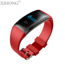 Blood pressure customized logo heart rate pedometer health management smart barcelet