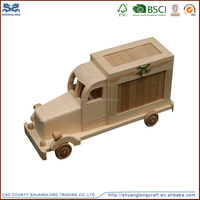 Wholesale Cheap Wooden Mini Truck Name Brand Toy