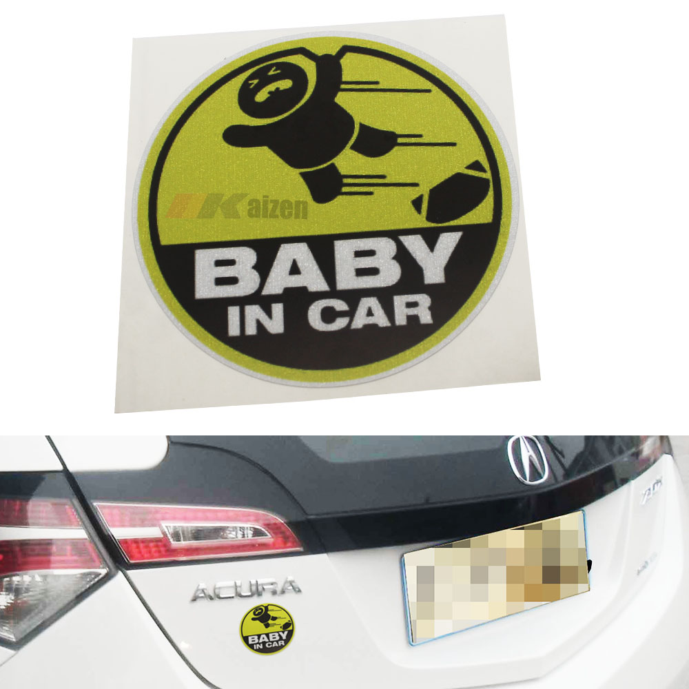 JDM Style Cute Cool Kids Baby IN Car SUV Truck Window Decal Vinyl Sticker Warning Sign