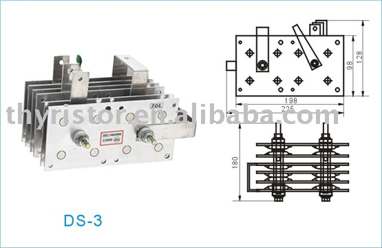 Three phase rectifier bridge PTS-300A for welder