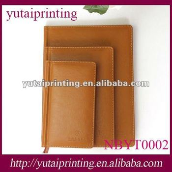 2013 custom promotional wholesale blank diary notebook with lock
