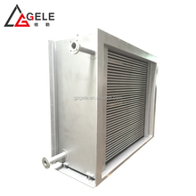 Efficient Thermal oil copper fin tube heat exchanger for oil cooling equipment core parts