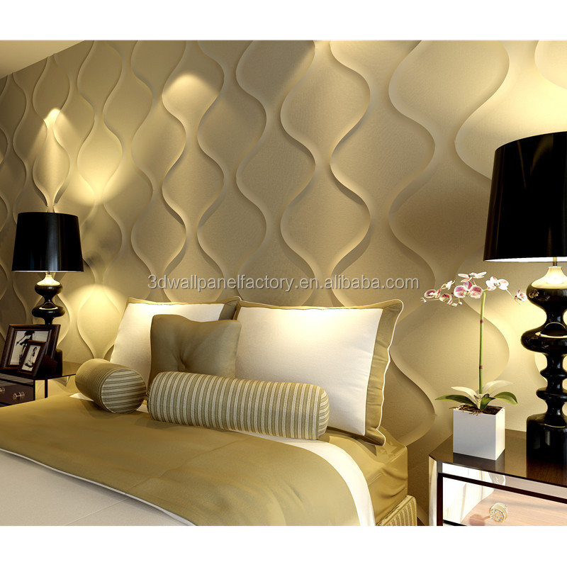 environment material interior decoration & white color decorative 3d wall panels european style