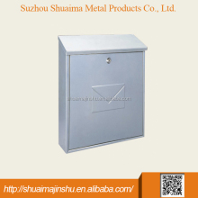 cheap price 270*115*390 Metal stainless steel postbox