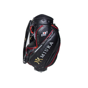 2017 New Style Custom PU Material Golf Cart Bag