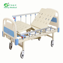 Hospital room two crank manual medical bed for China suppliers