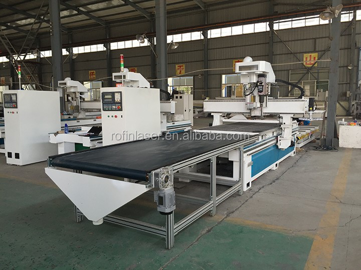 Intelligent furniture cabinet door cnc router with CE
