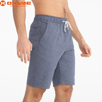wholesale men's sports cotton casual short drawstring pants