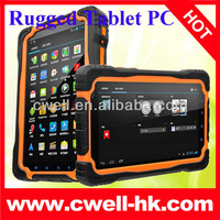 Rugged case IP66 waterproof tablet pc Hugerock T70S quad core GPS can make phone call