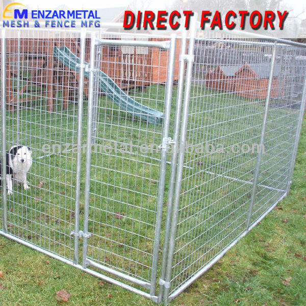 Welded Wire Fence Dog Cage/Galvanized Temporary Dog Fence