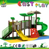 2015 Fashional plastic garden playground euqipment for children 150127-4