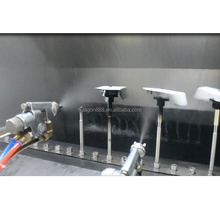 Automatic spray painting line with vacuum coating machine metallizing plant for auto parts