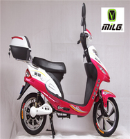 250~350W Electric Bicycle Motorcycle PAS,35km/h Max Speed electric Scooter with pedal